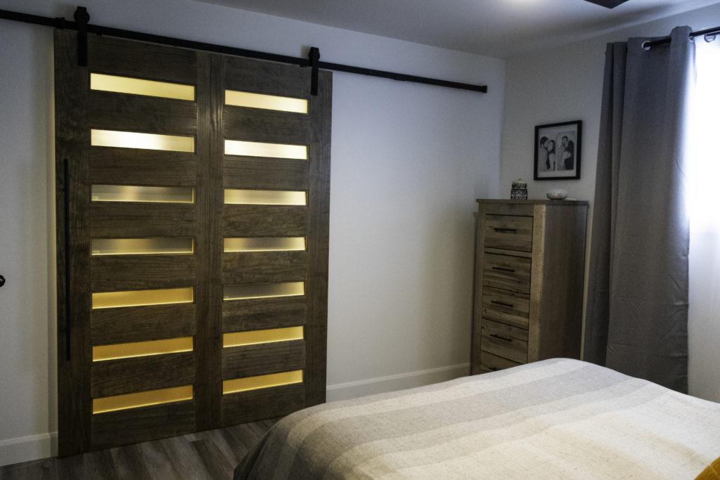 Mobilier de chambre-Merisier et Érable