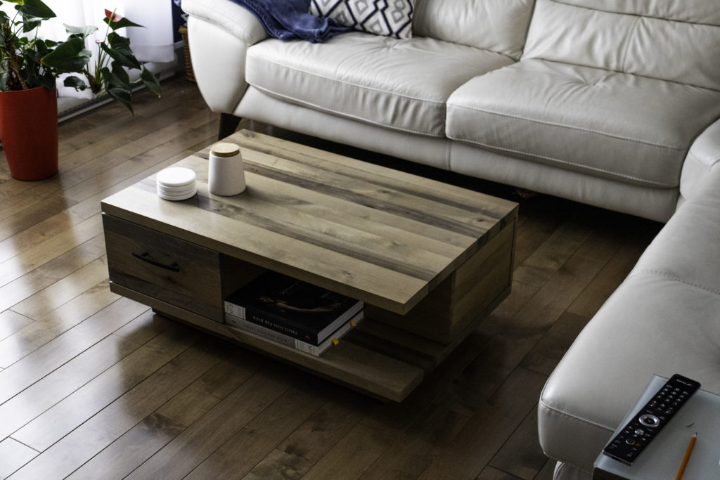 Table basse-Boulot