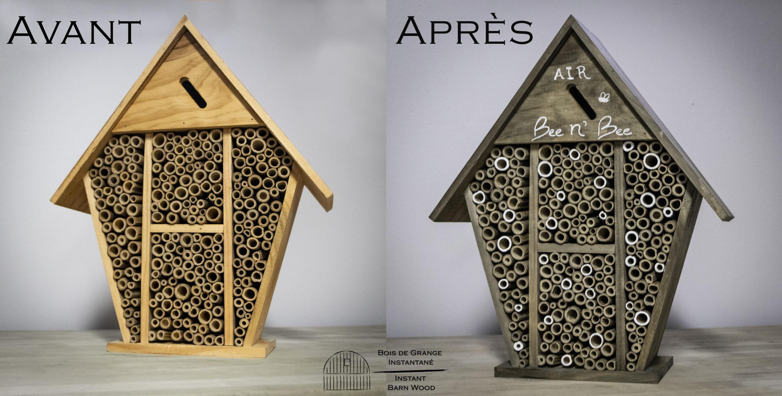 Abri à abeilles
